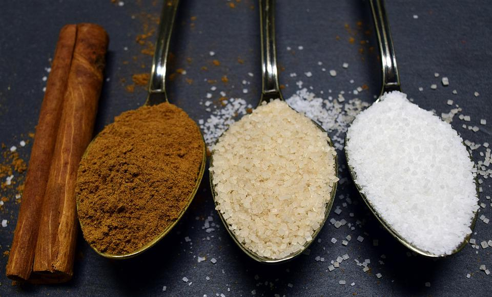 Cinnamon, Sugar, Cinnamon Sugar, Spoon, Coffee Spoon