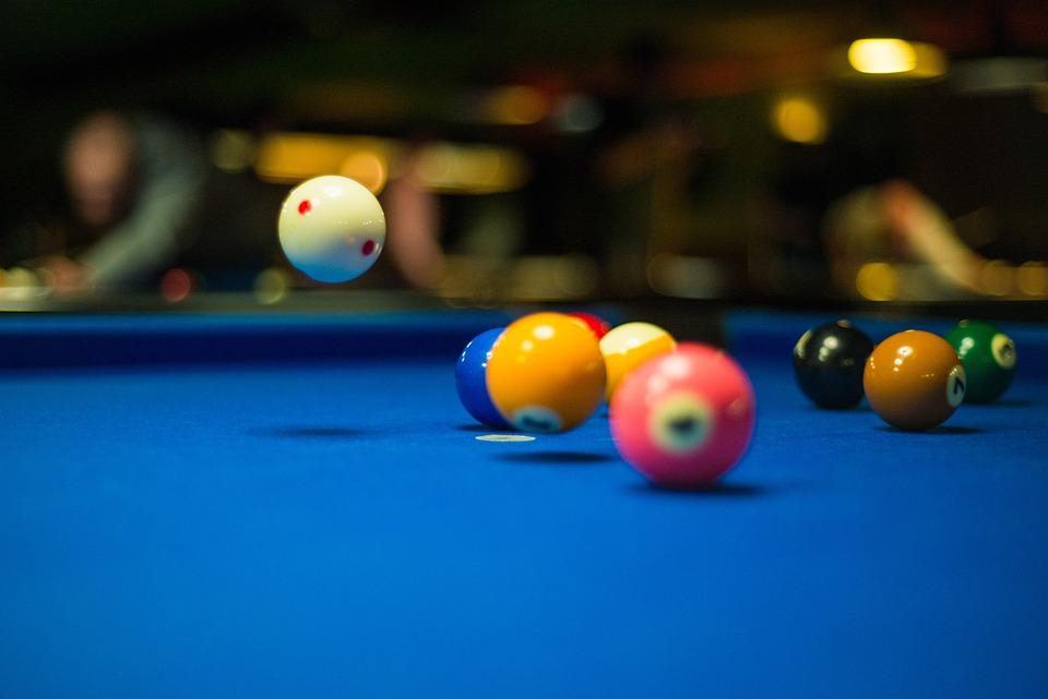 Pool, Balls, Cue, Game, Fun, Activity, Sport, Leisure