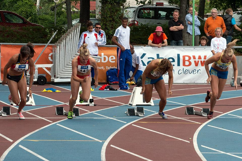Athletics, Sport, Run, Junior Gala Mannheim