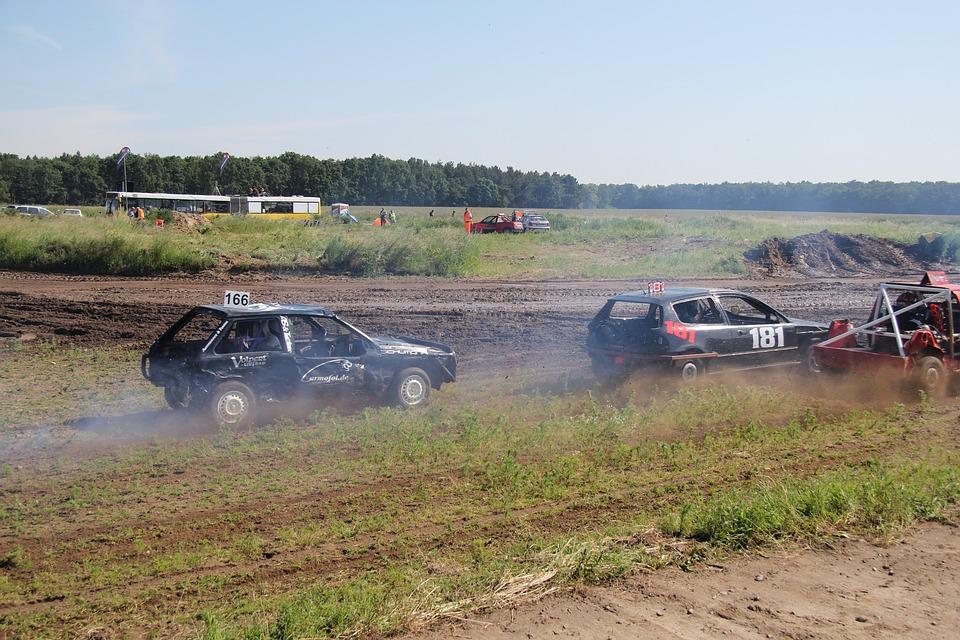 Auto, Sport, Mud, Motor, Red, Racing Car, Fast