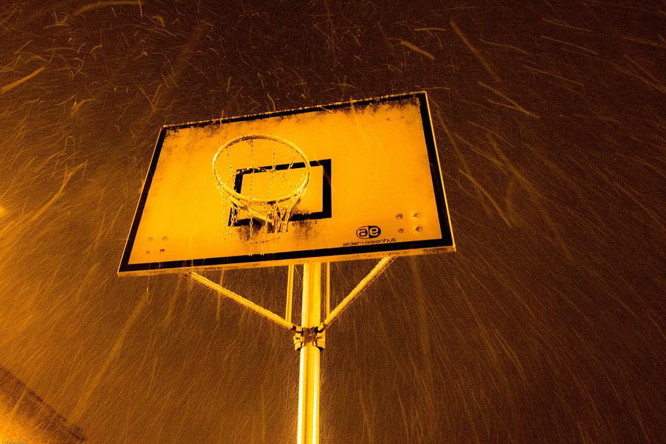 Ball, Snow, Sport, Basket, Basketball, Sports Short
