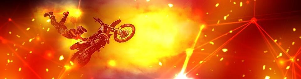 Biker, Motorcycle, Sport, Motorbike, Extreme