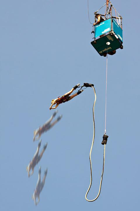 Bungee, Sport, Jump, Jumping, Challenge, Freedom