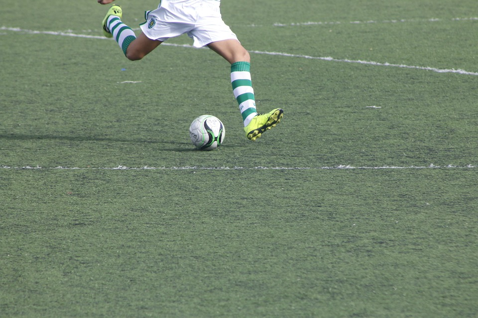 Football, Ball, Sport, Lawn, Goal, Game, Field