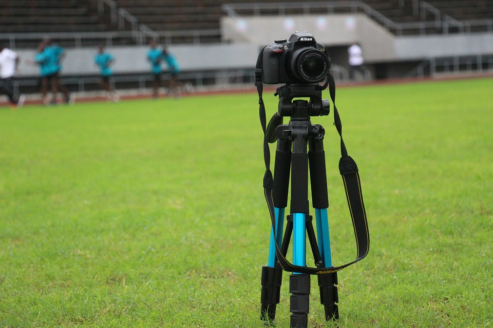 Lawn, Field, Technology, Sport, Picture, Tripod