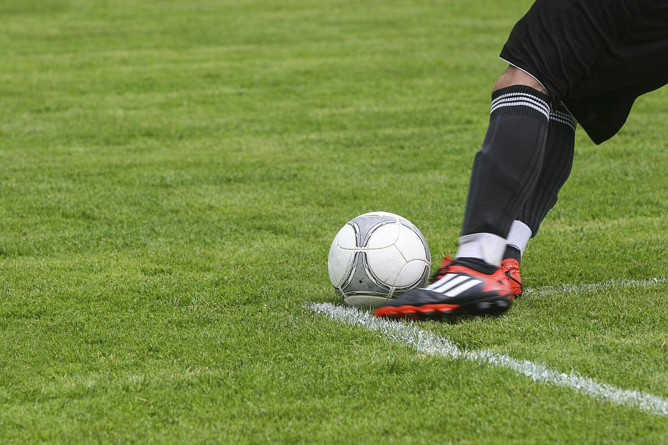 Football, Ball, Sport, Soccer, Play, Green, Field, Kick