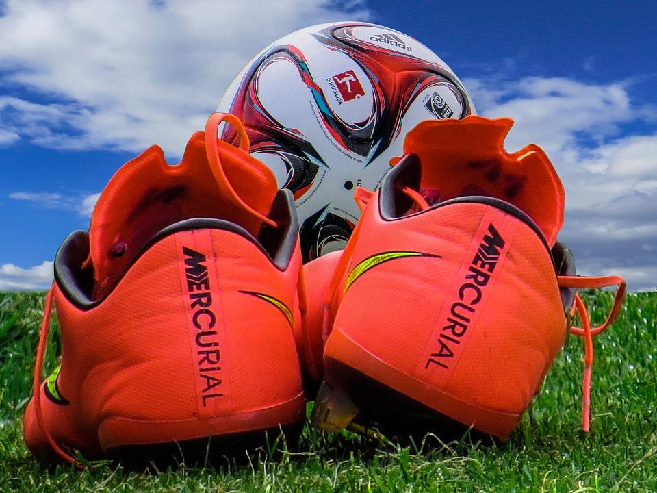 Sport, Football, Football Boots, Ball, Footballers