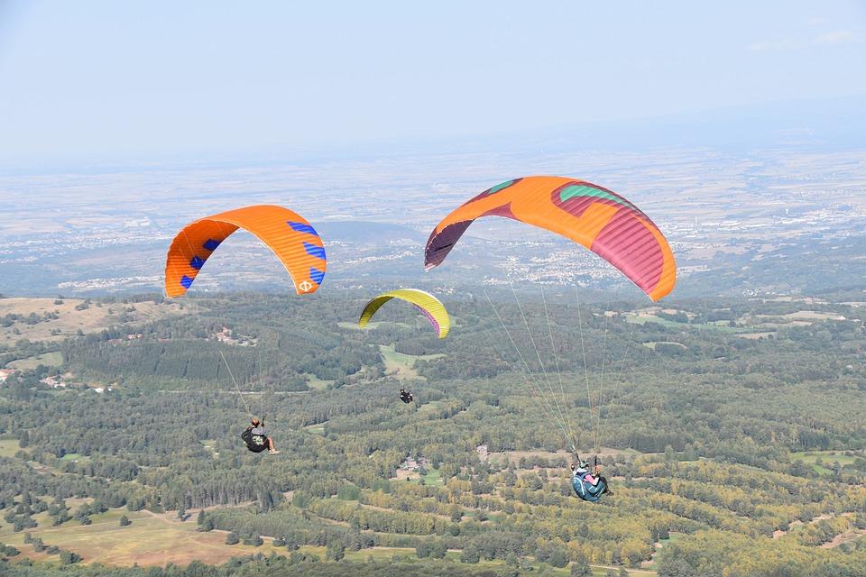 Paragliding, Paragliders-paraglider, Free Flight, Sport