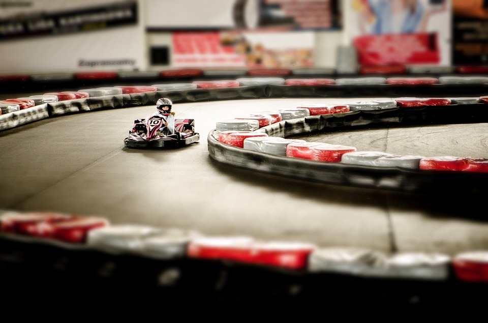 Gokart, Action, Umpteen, Motor, Speed, Sport, Track