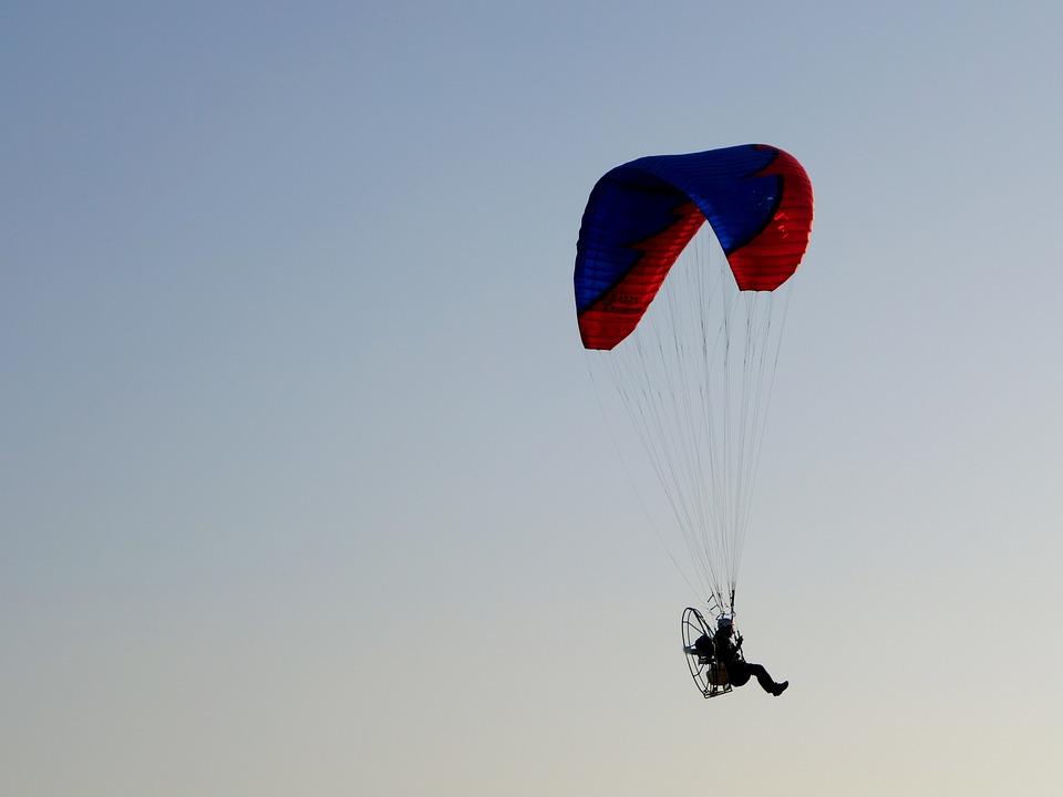 Sky, Paragliding, Extreme, Sport, Hobby