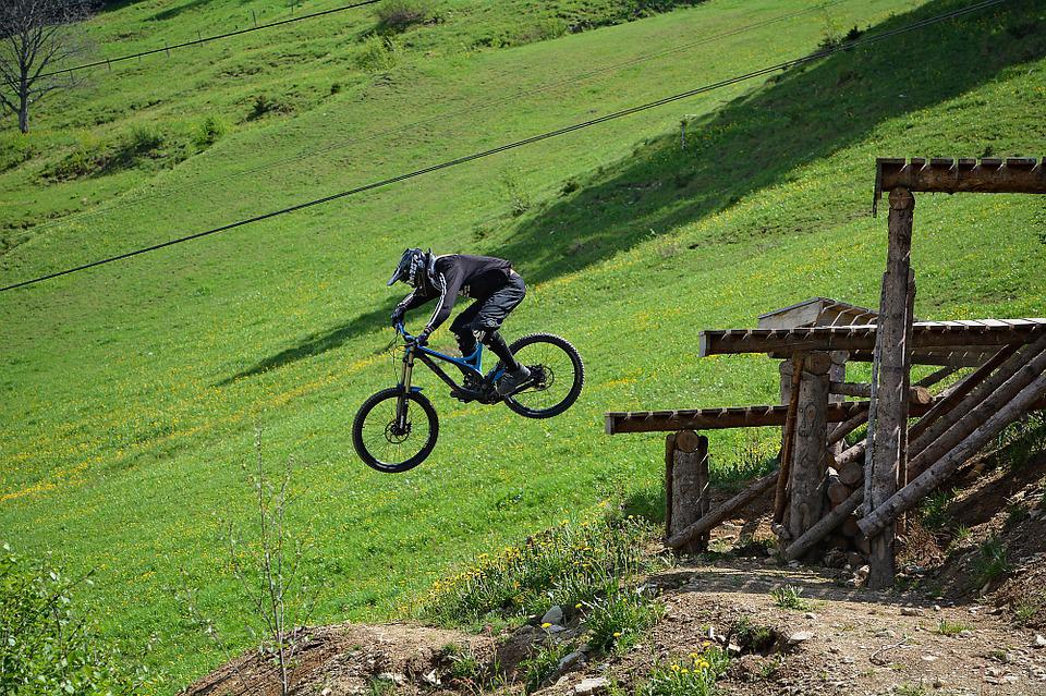 Bike, Human, Person, Sport, Bike Park, Obstacle, Jump