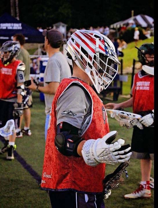 Helmet, Lacrosse, Sport