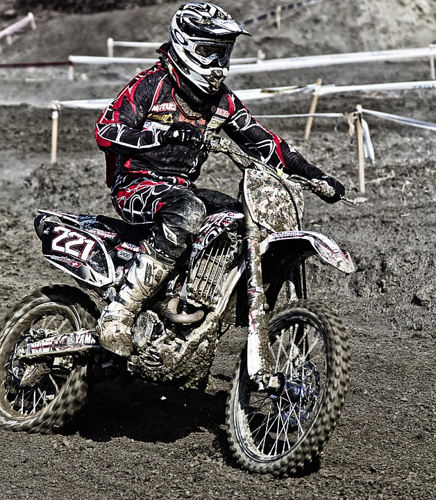 Moto, Motocros, Jump, Sport