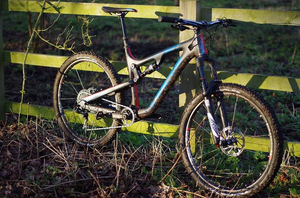 Bike, Muddy, Sport, Trail, Riding