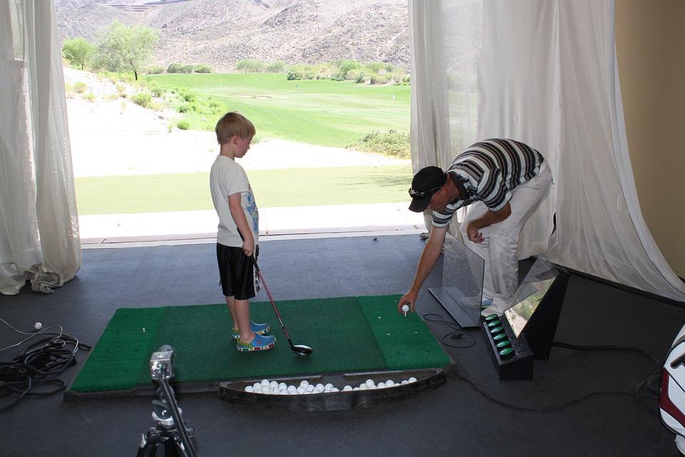 Golf, Junior Golf, Practise, Training, Sport, Child