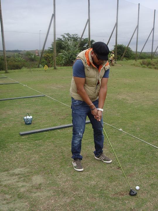 Golf, Golfer, Sport, Putten