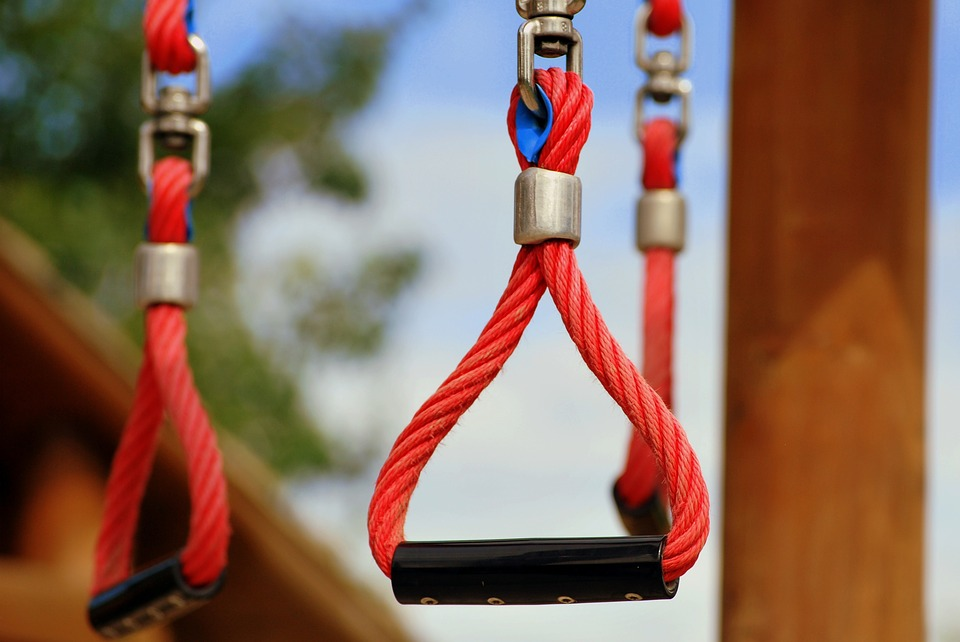 Rope, Playground, Hang, Handle, Sport, Climbing