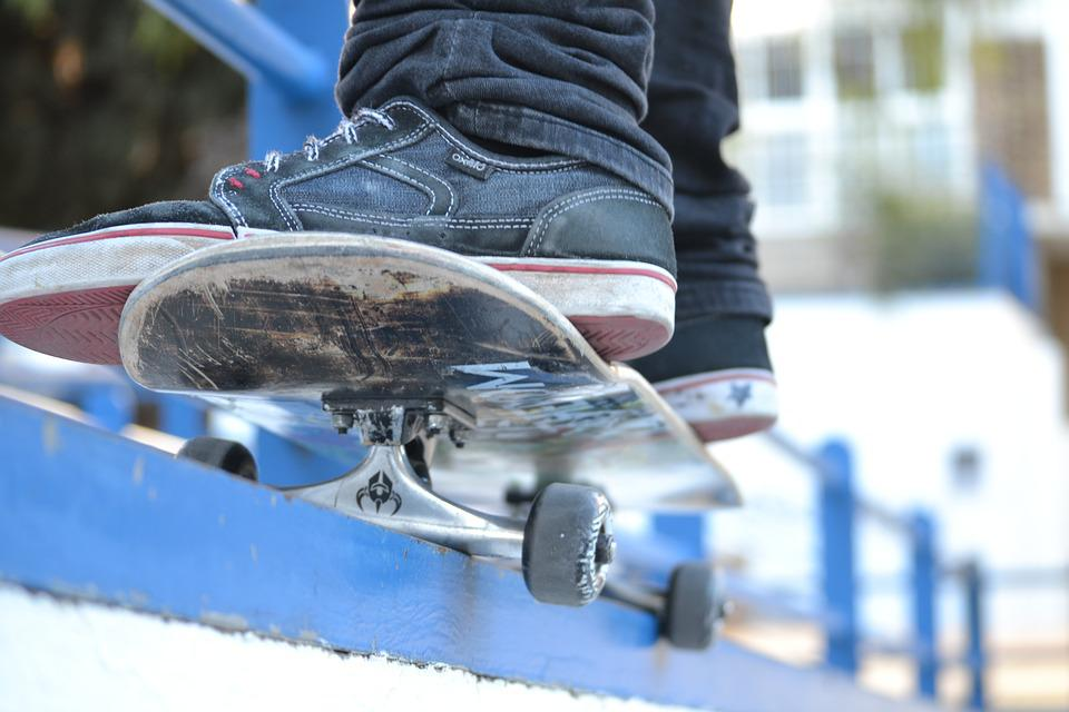 Skate, Child, Jump, Jumping, Fun, Sport, Play, Happy