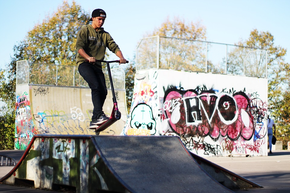 Skater, Akterpark, Skating, Youth, Skateboard, Sport