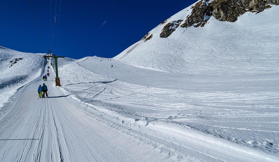 Snow, Ski, Ski Lift, Track, Mountain, Sport, Winter