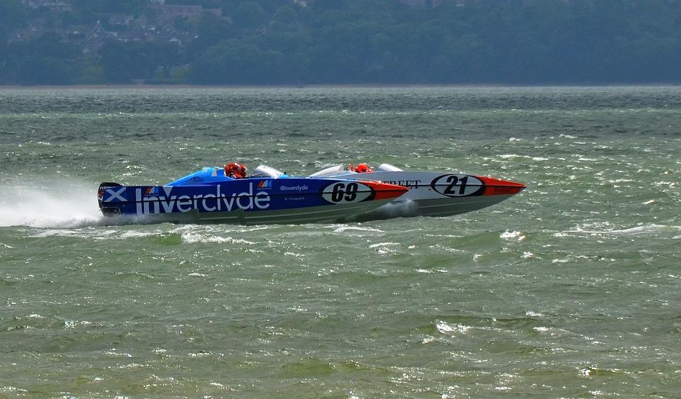 Powerboats, Speed, Speedboat, Water, Power, Fast, Sport