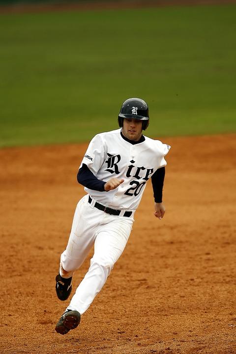 Baseball, Player, Sport, Team, Uniform, Field, Game