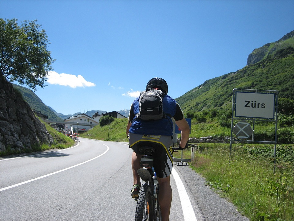 Cycling, Bike, Transalp, Sport, Zürs