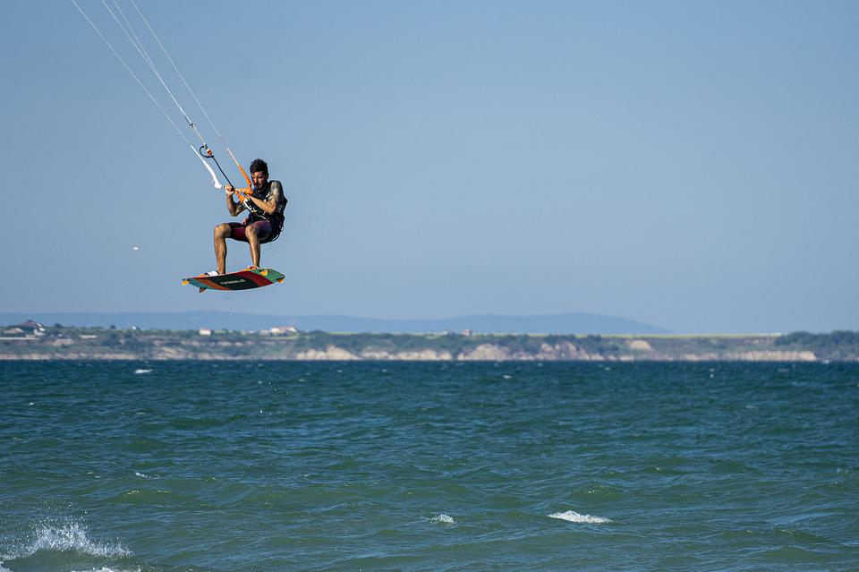 Kite, Surf, Sea, Sport, Kiteboarding, Wind, Kitesurfing
