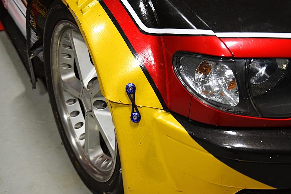 Sports Car, Headlights, Garage, Racing, Race Car