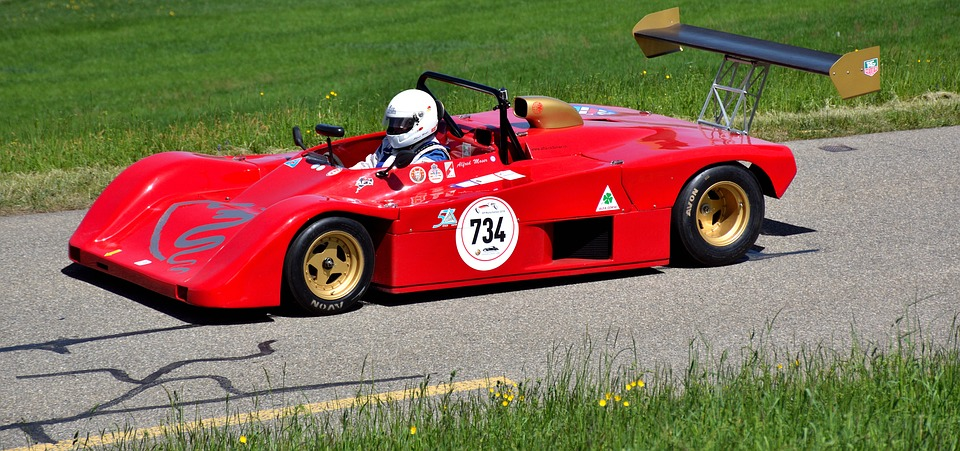 Sports Car, Hillclimb, Lucchini Lm89, Motorsport