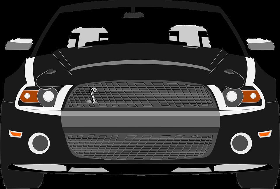 Car, Mustang, Sports Car, Automobile, Vehicle, Gray Car