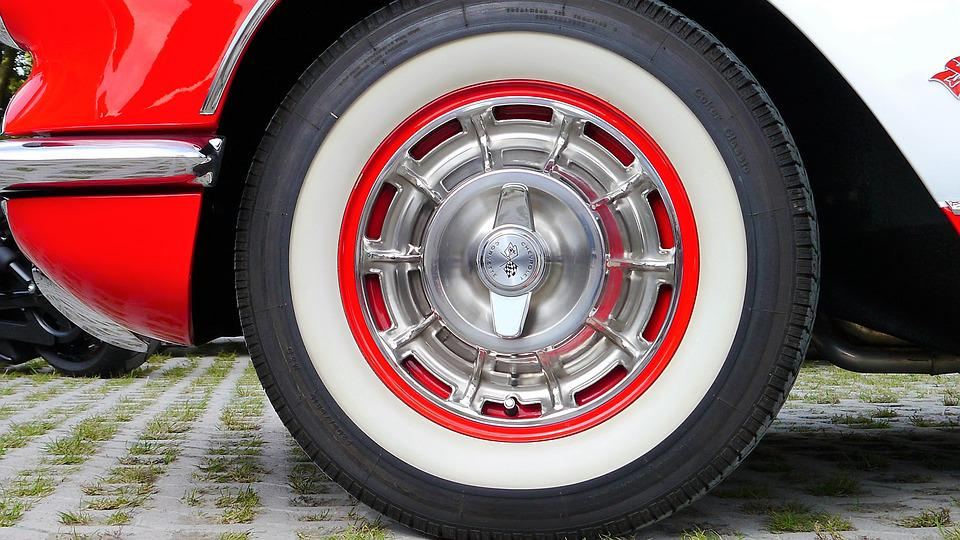 Auto, Mature, Rim, Red, Wheel, Oldtimer, Sports Car