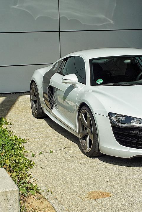 Sports Car, Audi, R8, Auto, Road, Sport, Supercar