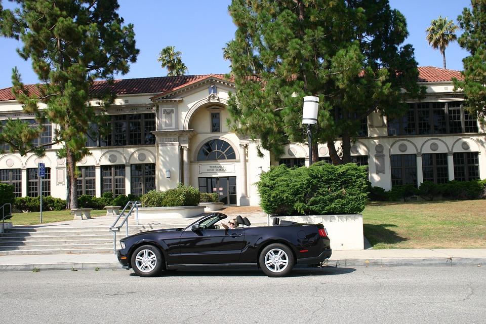 Convertible, Sports Car, Luxury Car, Empire, School