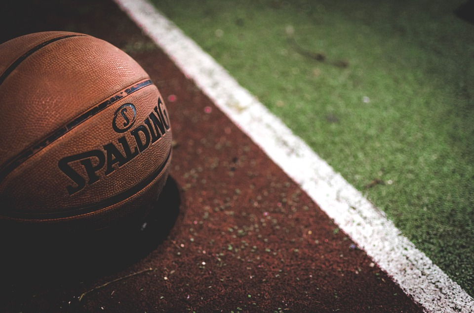 Basketball, Ball, Spalding, Court, Sports, Exercise
