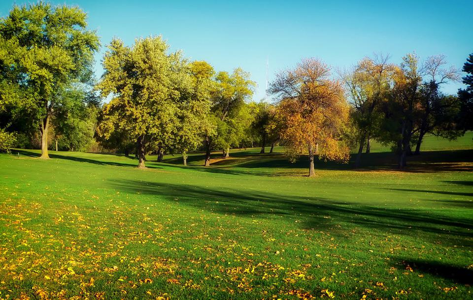 Omaha, Nebraska, Golf Course, Sports, Fall, Autumn