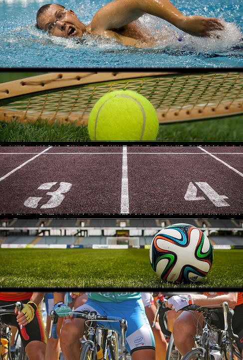 Sport, Sports, Swimming, Tennis, Football, Bike