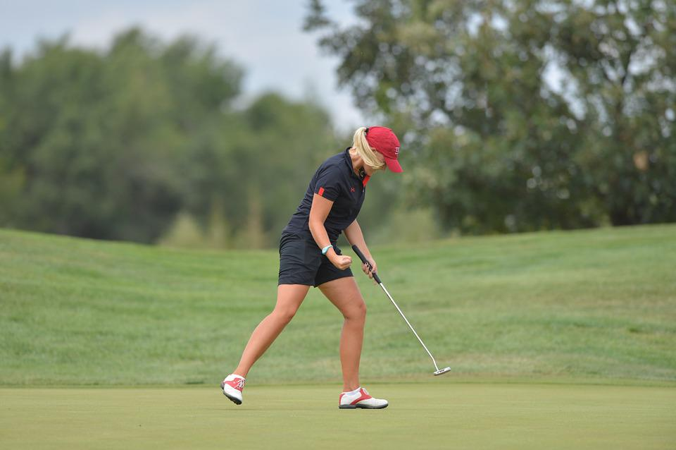 Golf, Girl, Force, Golfer, Sports