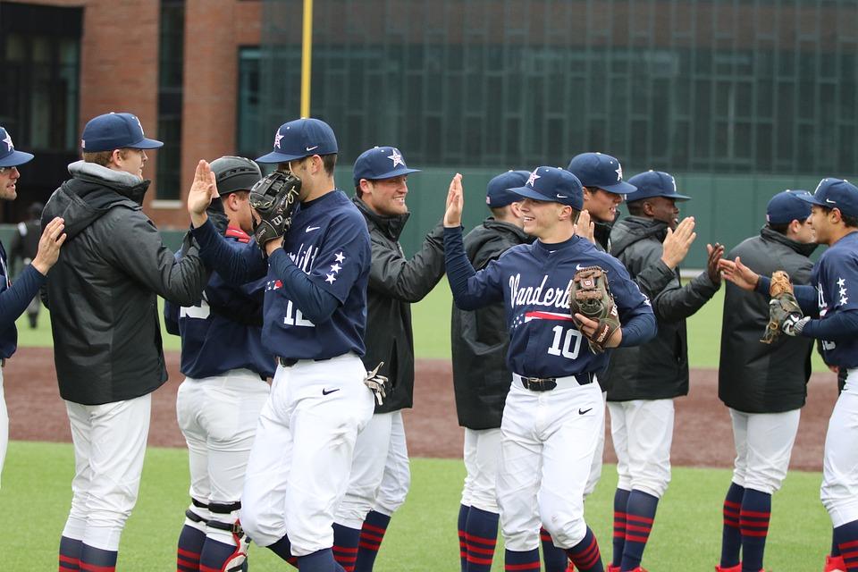 High Five, Baseball, Sports, Sport