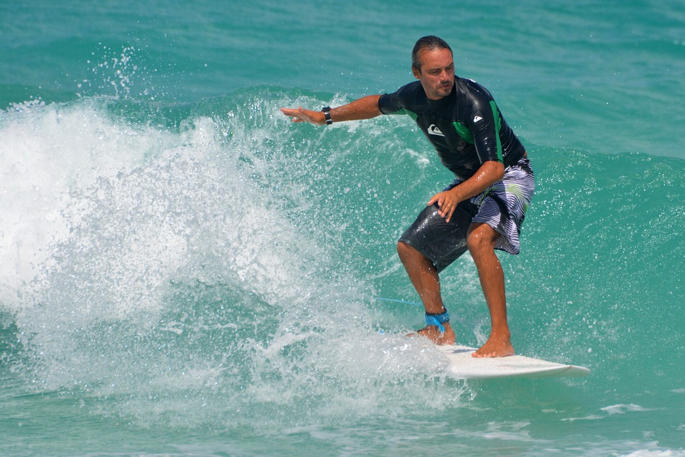 Sea, Ocean, People, Man, Surfboard, Sports, Surf, Waves