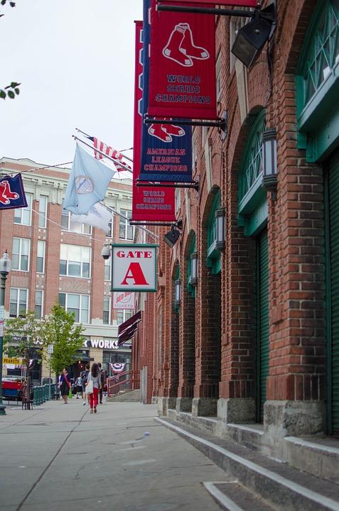 Fenway Park, Boston, Mass, Baseball, Sports, Stadium