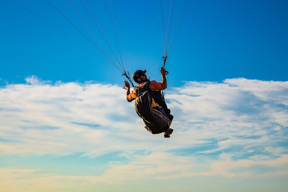 Paraglider, Paragliding, Sports, Adventure Sports