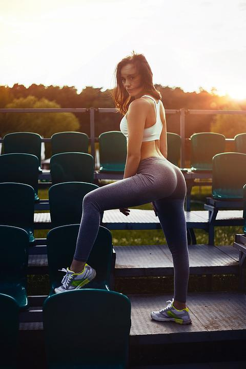 Sports, Girl, Sexy, Fashion, Eyes, Posture, Person