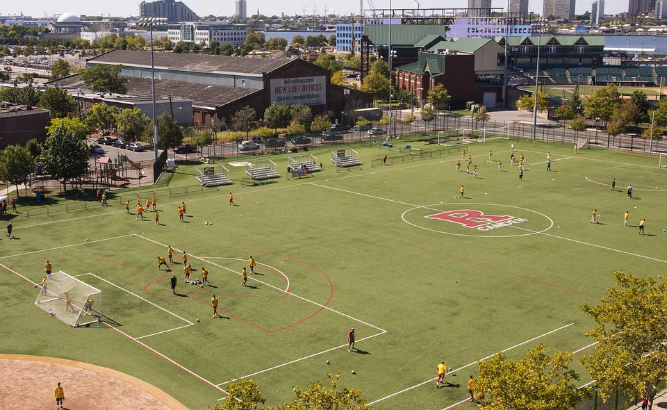Soccer, Sports, Field, Rutgers, Camden, New Jersey