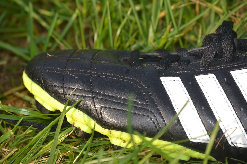 Football Boots, Shoe, Grass, Football, Sports Shoes