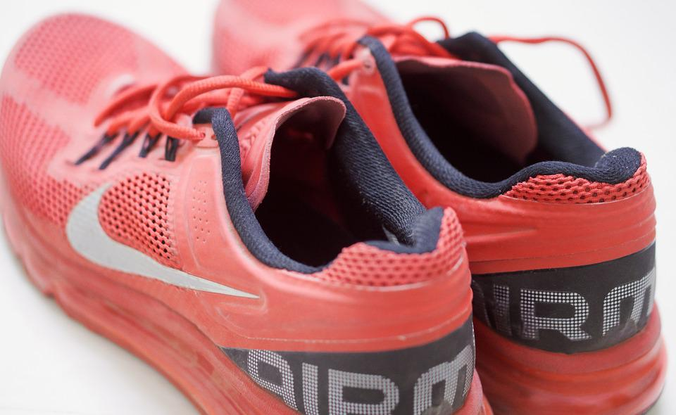 Free photo Sports Sneakers Trainers Nike Airmax Shoes Red Max Pixel