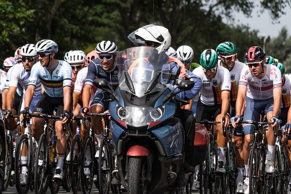 Cycling, Wielerronde, Contest, Sports, Bicycle, Train