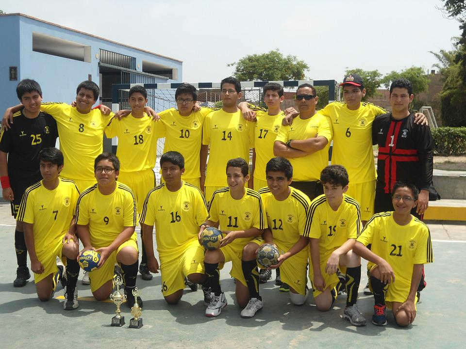 Sports, Handball, Team, Young