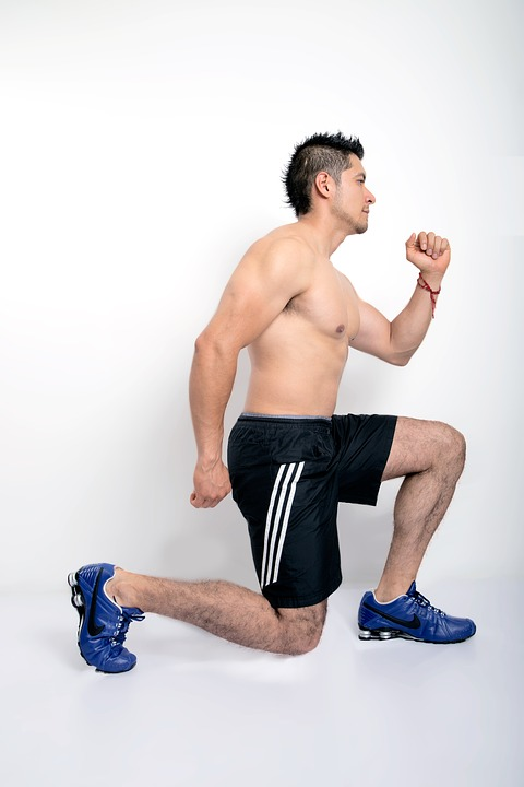 Exercise, Fitness, Lunges, Sportswear