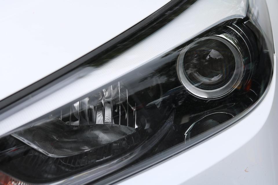 Spotlight, Xenon, Auto, Suv, Automotive, Vehicle, White